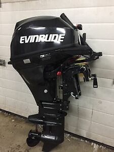 Brand New!! 15 HP Evinrude Outboard