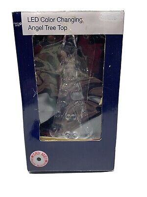 Angel Christmas Tree Topper Lighted LED Color Changing
