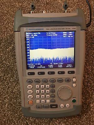 Rhode Schwars Fs H3 Spectrum Analyzer 100khz - 3ghz