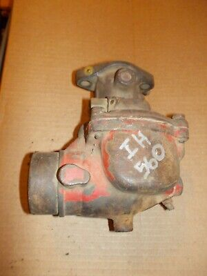 Farmall 560 460 Tractor Engine Motor Carburetor Ih Ihc Works Good Ready To Use