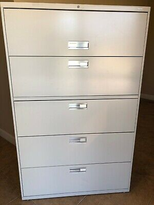 Hon 5-drawer Lateral Filing Cabinet 67 X 42 X 19-14 Legalletter Size