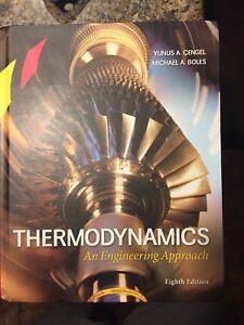 Thermodynamics an engineering approach buy sell items from thermodynamics text book fandeluxe Images
