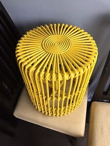 Yellow side table Sans Souci Rockdale Area Preview