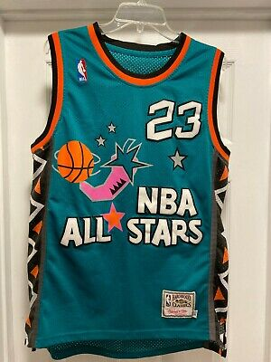 RARE 1996 NBA All Star Game Jersey Michael Jordan Mitchell and Ness size S