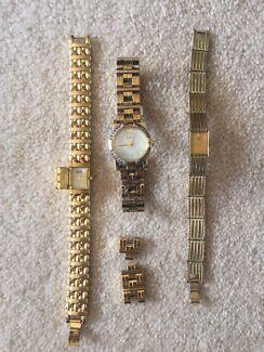 Ladies women's watch x3 seiko citizen