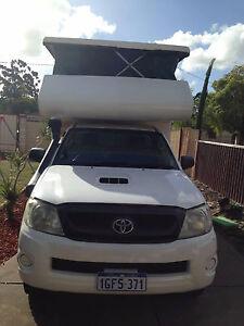 TOYOTA HILUX CAMPER 2011 ,  $23500 ONO Koondoola Wanneroo Area Preview
