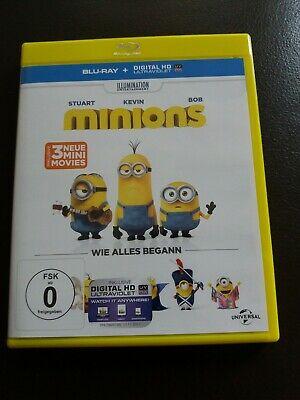 Die Minions wie alles  begann - der Film  Blu ray Top  (Der Film Minions)