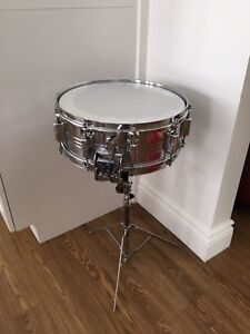 Snare PEARL 14'' x 4.5'' vintage 10 bolts