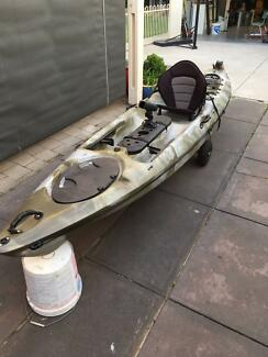 KAYAK WITH MOTOR CHEAP