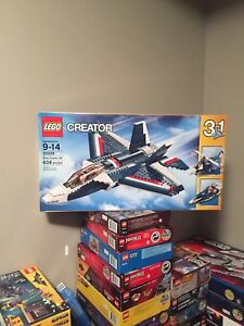 Lego creator set lot complete with box and books rare house