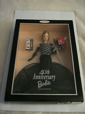 1999 40TH Anniversary Barbie Collector Edition New In Sealed Box