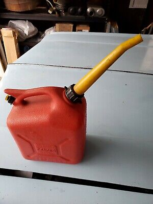 Vintage Wedco 2.5 Gallon 8 Inch Spout Gas Can