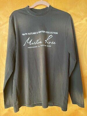 Martine Rose long sleeve t shirt size Medium
