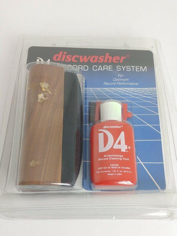 Discwasher D4 Vinyl Record Album Care System Set Unopened. New.