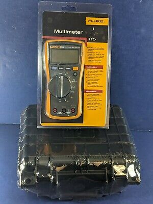 New Fluke 115 Trms Multimeter Case Accessories Original Packaging