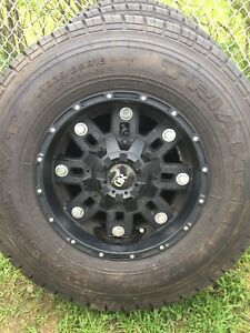 LT235/85/16 inch Jeep Tires and Rims / GOOD DEAL