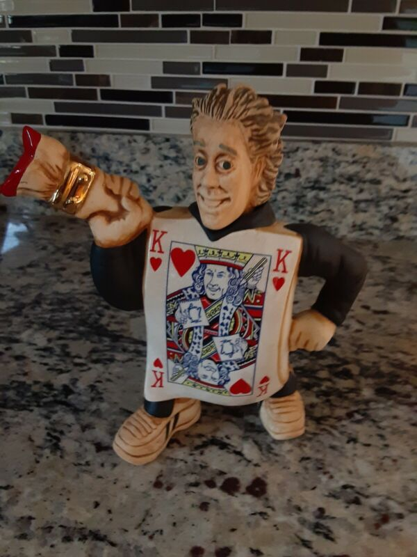 Paul Cardew Teapot King Of Hearts Collector