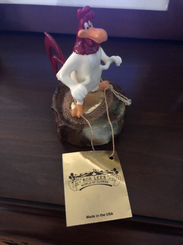 RARE 1997 Foghorn Leghorn Mini Statue By Rob Lee 56/1500