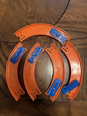 Hot Wheels Track Builder Curved Track New Rare Free Shipping