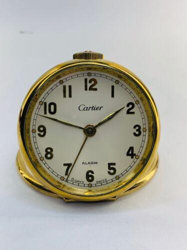 Vintage Cartier alarm clock Swiss made