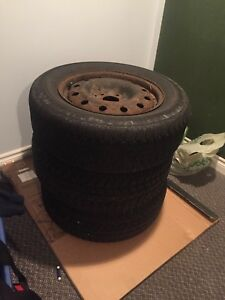 Winter tires on rims 2005 camry 225/60/16