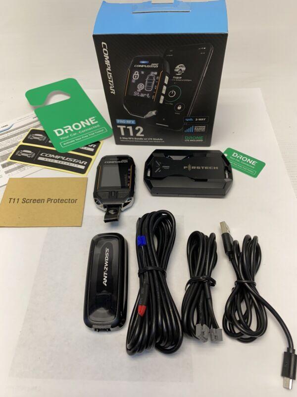 Compustar RFX-P2WT12-SS PRO RFX T12 2-way RFX Bundle w/ LTE Module
