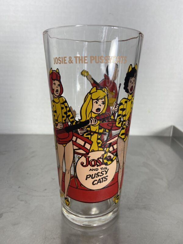 1977 Pepsi Collector Series Josie And The Pussycats Glassware