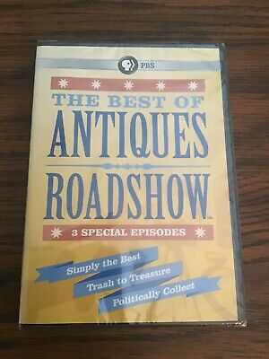 The Best of Antiques Roadshow [New DVD] PBS Sealed 3 Special Episode Edition