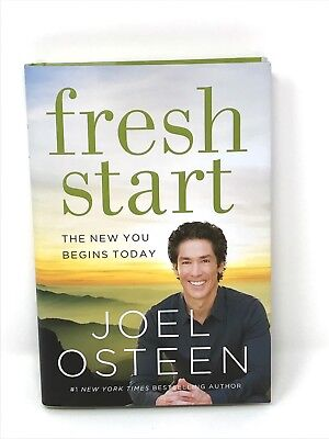 New 2015 Joel Osteen Fresh Start The New You Begins Today Hc Christian Help