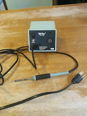 Weller Wtl 1000 Soldering Station Power Unit 60w 120vac Iron