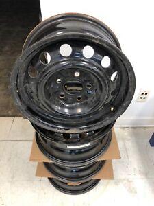 Black Steel Rims Set of 4