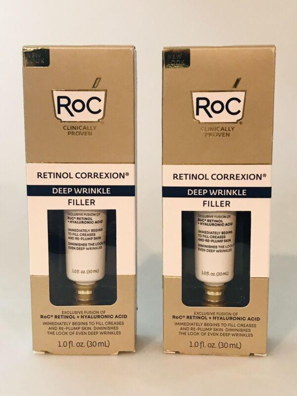 2 RoC Retinol Correxion Deep Wrinkle Fillers 1 oz each   2 ITEMS