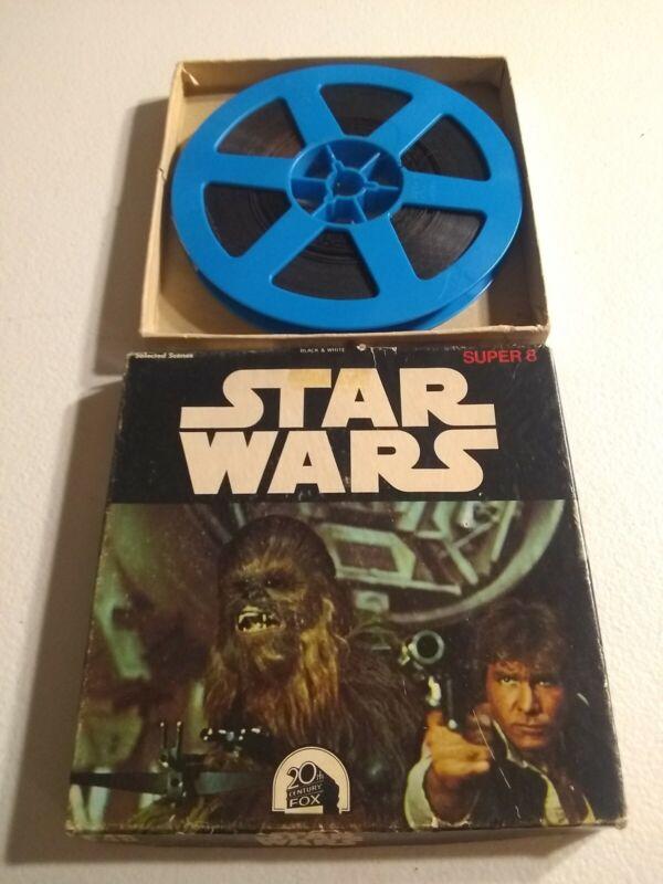 RARE Ken Films Star Wars Super 8 F48 Color Sound 1977 8mm Film 42.5 Metres.