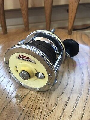 1 NEW OLD STOCK GARCIA MITCHELL 303N 397 397MP FISHING REEL CHROME HANDLE 82431