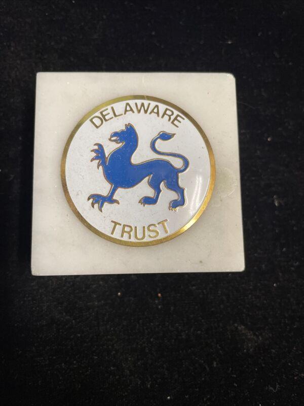 Delaware Trust Stone Plaque Stone