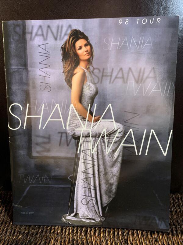 SHANIA TWAIN 1998 COME ON OVER TOUR CONCERT PROGRAM BOOK