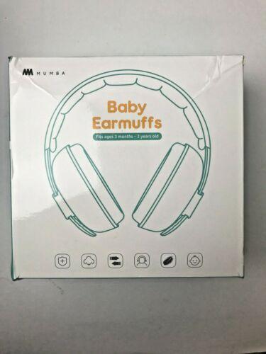 Mumba Baby Earmuffs - Ages 3-24+ Months Hearing Protection Earmuffs Headphones