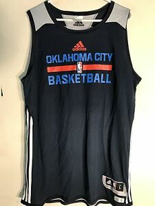 7e5799ecf68 Adidas Reversible NBA Jersey Oklahoma City Thunder Team Navy sz 2X