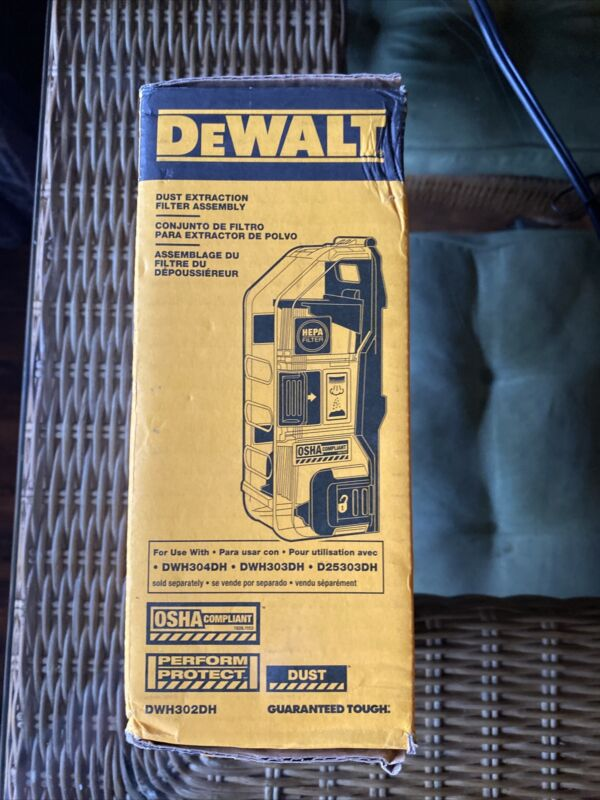 DEWALT DWH302DH Heavy Duty Dust Extraction Filter Assembly