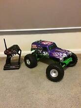 Traxxas Grave Digger 30th Anniversary RC Car Rare Upgraded Lara Outer Geelong Preview