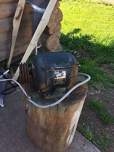 Looking for a 5hp single phase electric motor
