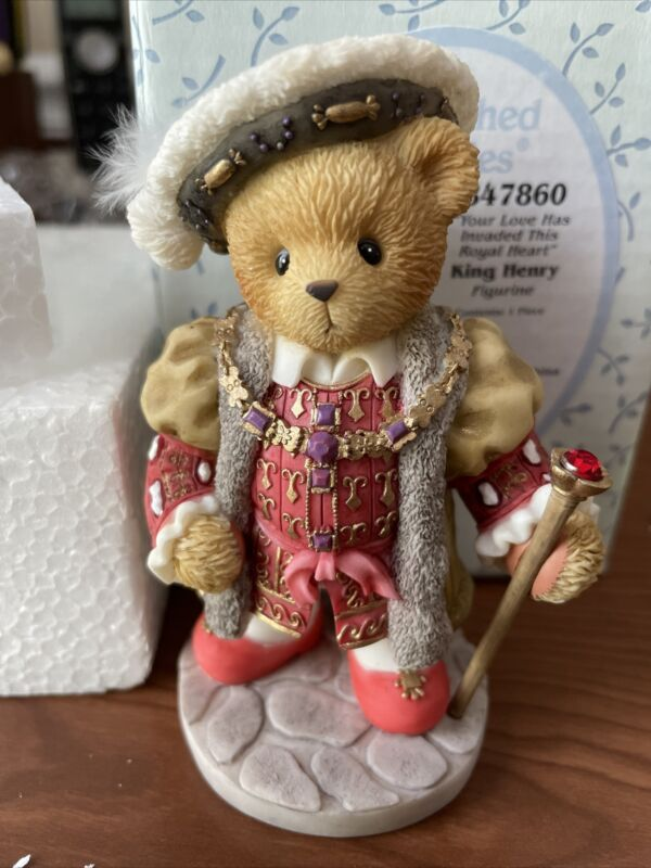 """Cherished Teddies King Henry """"Your Love Has Invaded This Royal Heart"""" #847860"""