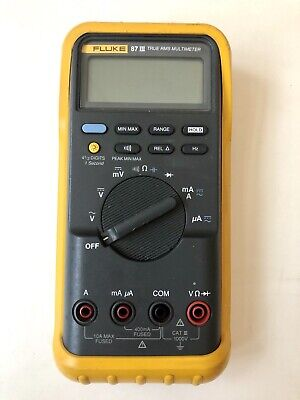 Fluke 87 Iii 87-3 True Rms Multimeter