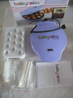 The Original Babycakes 12 Cake Pop Maker CP-94LV Lavender