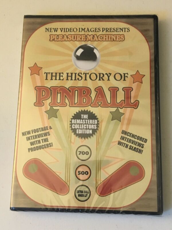 """The History Of Pinball"" Sealed DVD Free Shipping"