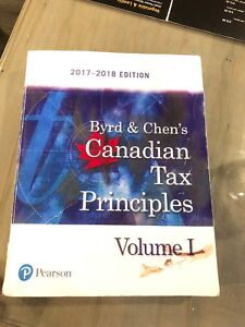 Canadian Tax Principles
