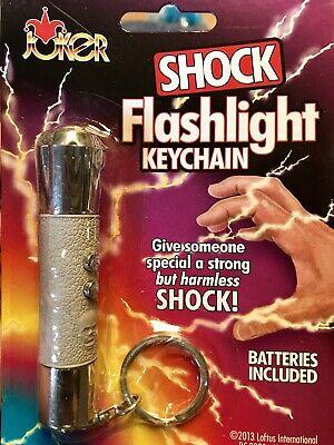 Shock Novelty Flashlight Practical Gag Prank Shocking Zapping Toy - Novelty Flashlights