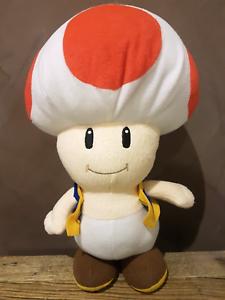 Nintendo Mushroom Plush Toy