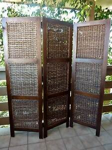 TIMBER & CANE SCREEN ROOM DIVIDER Maroochydore Maroochydore Area Preview