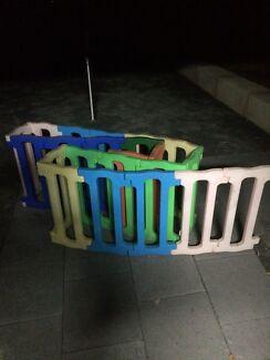 Kids plastic barricades